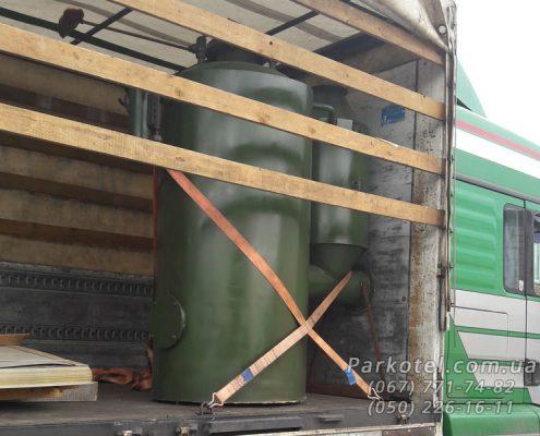 Паровой Котел Ри-5М на дровах