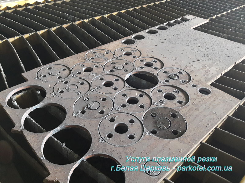 Плазменная резка металла на ЧПУ станке - Услуги ЧПУ резки металла в Белой Церкви