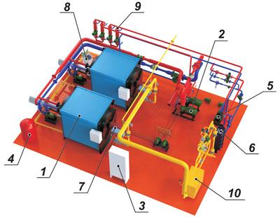 Котельные установки, Блочно-модульные, транспортабельные котельные установки ТКУ, транспортабельные котельни, фото