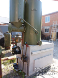 Парогенератор РИ-5М с предтопком 300 кг пара/час на твердом топливе