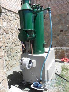 Парогенератор (Паровой котел) РИ-5М с предтопком на твердом топливе