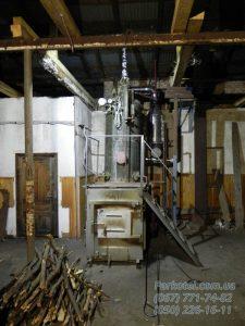 РИ-5М Паровой котел на дровах и пеллете