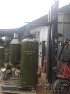 На твердом топливе производительность 200 и 300 кг пара/час