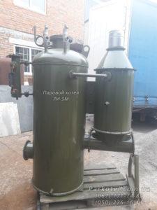 Возможна комплектация Парогенератора РИ-5М предтопком и автоматикой