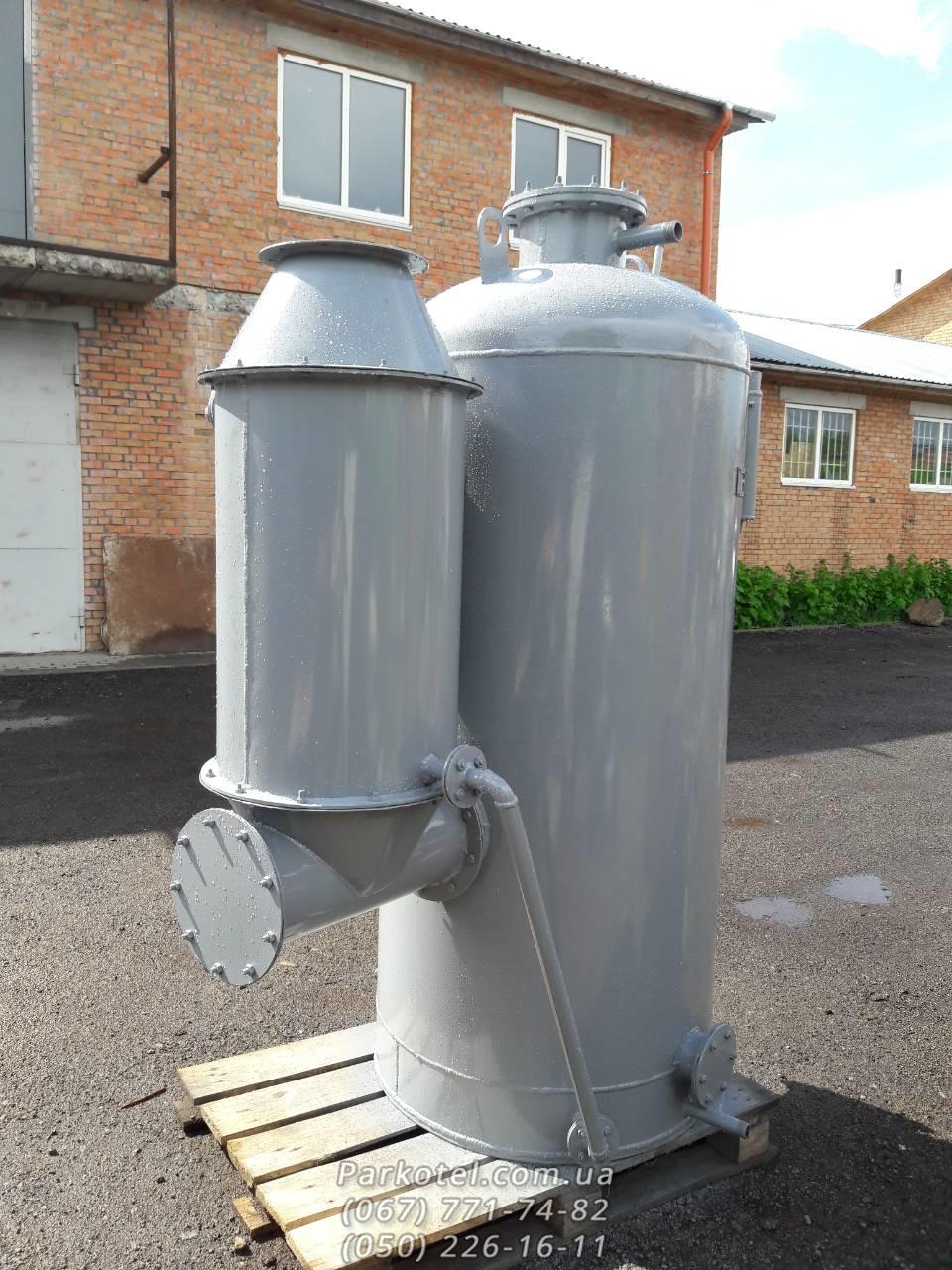 Паровой котел (Парогенератор) КД-400 на твердом топливе