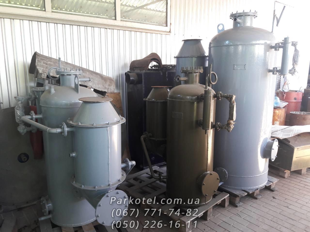 Паровой котел (Парогенератор) РИ-5М и КД-400 на твердом топливе (дрова, уголь, торфяные брикеты)