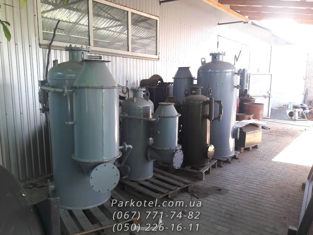 Паровой котел (Парогенератор) РИ-5М и РИ-1М на твердом топливе (дрова, уголь, торфяные брикеты)