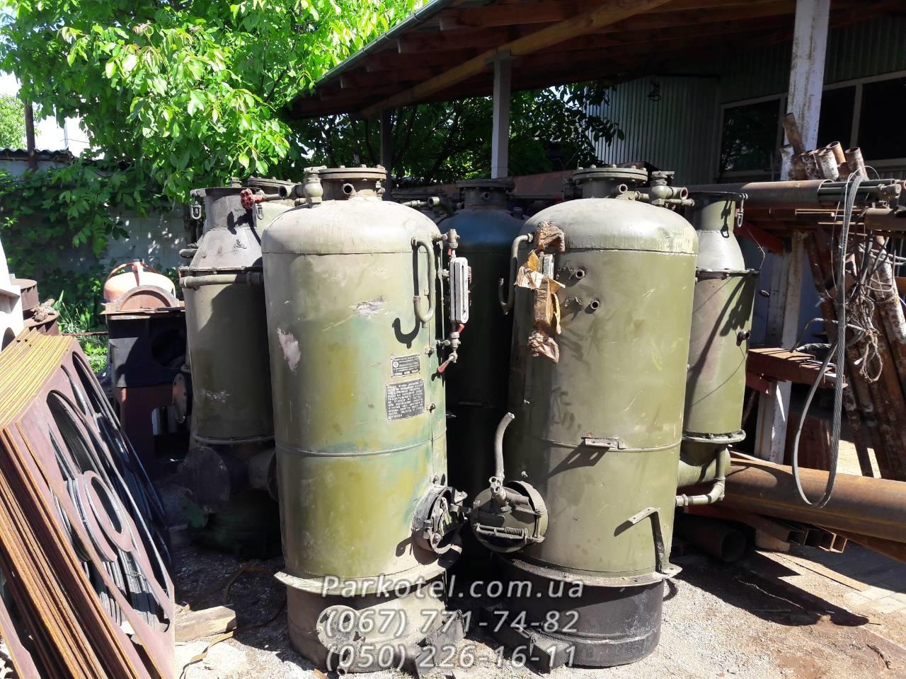 Фото Паровой котел РИ-5М и РИ-1М - парогенератор с военной консервации
