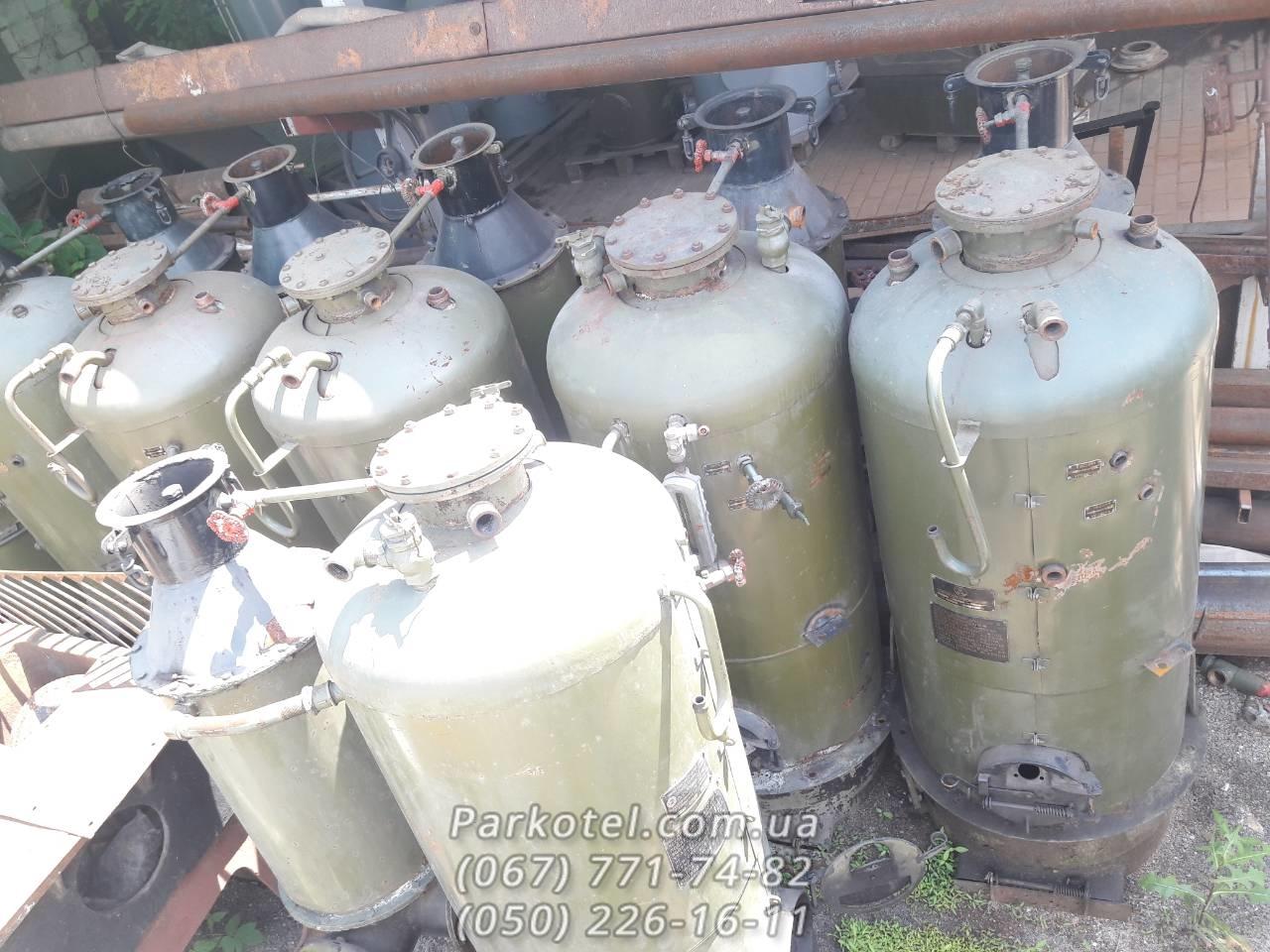 Промышленный парогенератор РИ-1 на газу, на твердом топливе, дровах
